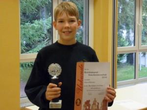 Bezirksjugendmeister U14 Marcel Böttcher