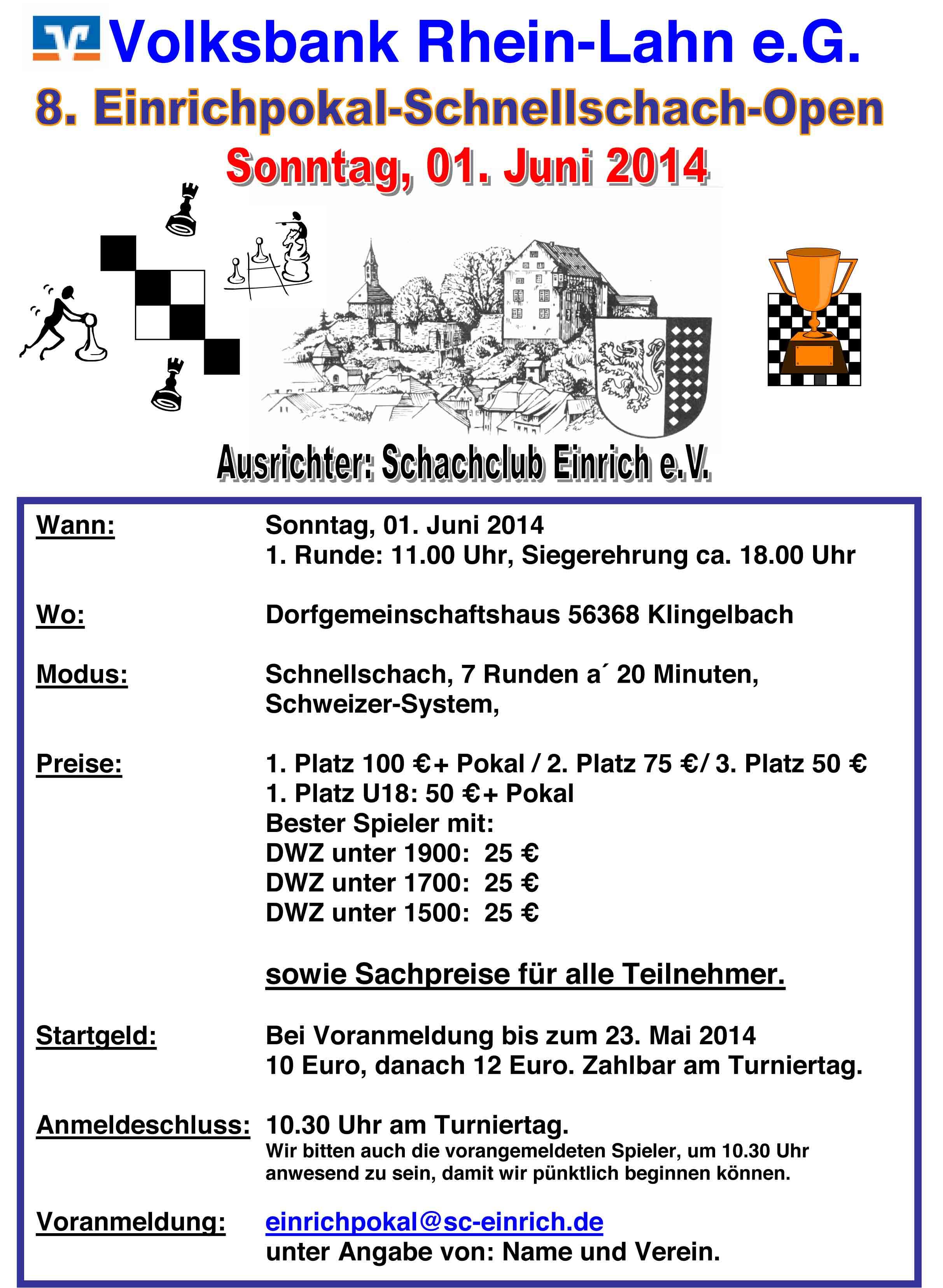 8-Einrich-Pokal-Schnellschach-Open-2014